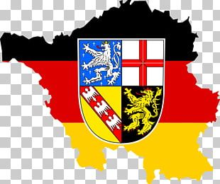Flag Of Saarland States Of Germany Flag Of Germany PNG