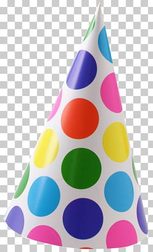 Party Hat Polka Dot Birthday PNG