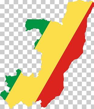 Flag Of The Democratic Republic Of The Congo Flag Of The Republic Of The Congo World Map PNG