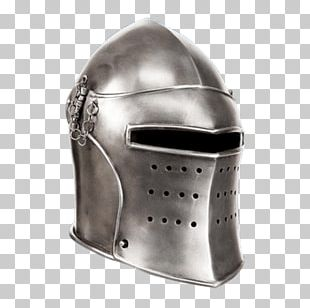 Middle Ages Bascinet Helmet Armour Knight PNG