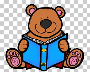 Reading Bear Free Content PNG