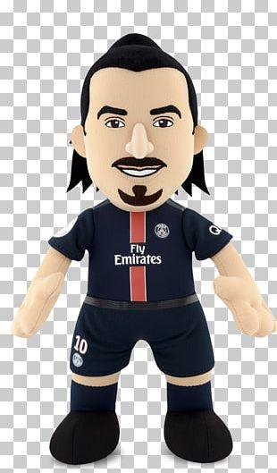 Zlatan Ibrahimović Paris Saint-Germain F.C. Plush PNG