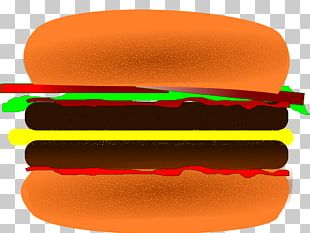 Hamburger Cheeseburger Fast Food French Fries Barbecue PNG