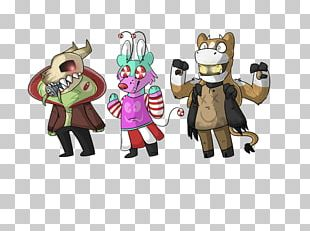 Mascot Cartoon Figurine Animal Character PNG