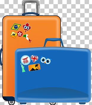 Graphics Suitcase Baggage Open PNG