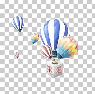 Hot Air Balloon Designer PNG