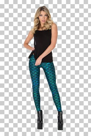 Leggings Mermaid Clothing Fish Scale Pants PNG