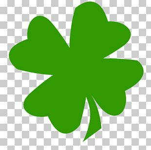 Saint Patrick's Day 17 March Ireland Shamrock Four-leaf Clover PNG
