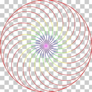 Spiral Circle Area Vortex PNG
