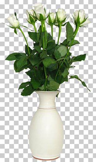 Flower Rose Vase PNG