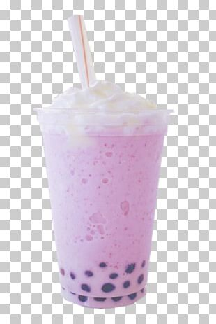 Milkshake Bubble Tea Smoothie PNG