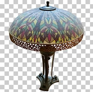 20th Century Lamp Table Furniture Glass PNG