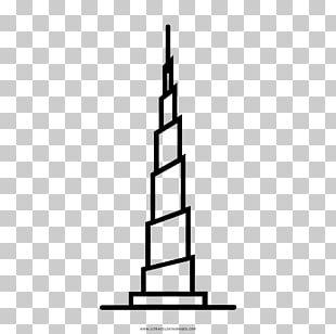 Burj Khalifa Burj Al Arab Jumeirah Drawing Skyscraper Coloring Book PNG