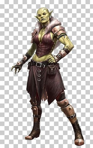 Pathfinder Roleplaying Game Half-orc Art Female PNG