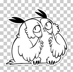 Telegram Sticker Rabbit Drawing PNG