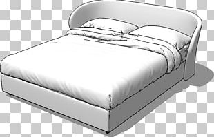 Bed Frame Mattress SketchUp 3D Warehouse PNG