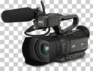 4K Resolution Camcorder JVC GY-HM200 Professional Video Camera PNG