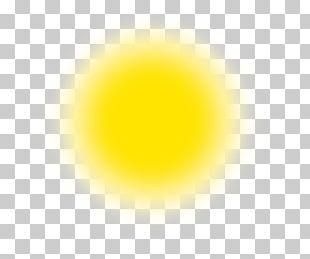 Yellow Circle Font PNG
