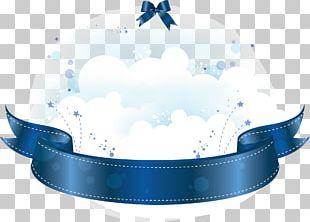 Web Banner Blue PNG
