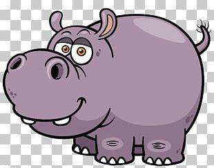 Hippopotamus Cartoon PNG