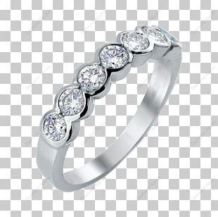 Eternity Ring Jewellery Wedding Ring Diamond PNG