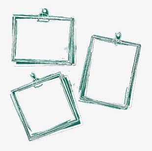 Photo Frame Border Design PNG
