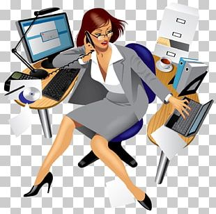 Woman Office Businessperson PNG