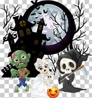 Halloween Cartoon Drawing PNG