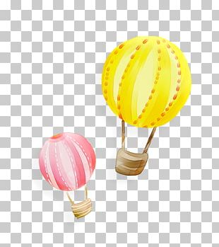Hot Air Balloon Hydrogen Gas Balloon PNG