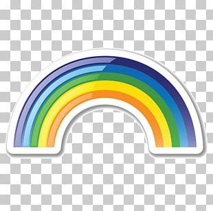 Rainbow ICO Icon PNG