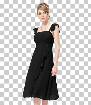 Cocktail Dress Evening Gown Chiffon Prom PNG