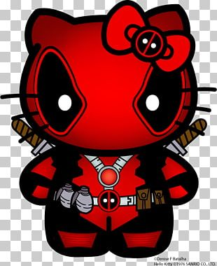 Deadpool Hello Kitty Spider-Man Marvel Comics PNG