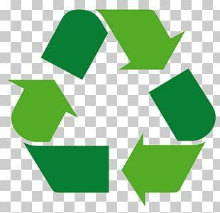 Recycling Symbol Green PNG
