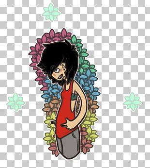 Cartoon Character Fiction Flower PNG