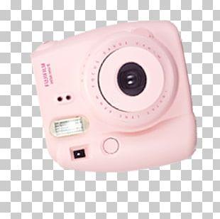 Digital Camera Pink PNG