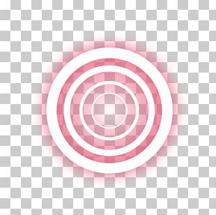 Red Ring Light Effect PNG