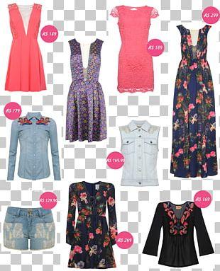 Fashion Design Pink M Dress PNG