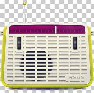 Radio Station Vintage Clothing Retro Style Music Broadcasting PNG