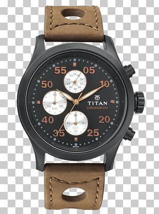 Titan Company Analog Watch Chronograph Fastrack PNG