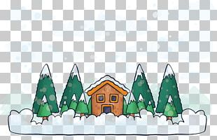 Winter Drawing Illustration PNG