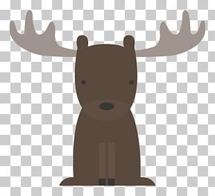 Woodland And Forest Animals Baby Shower Moose PNG