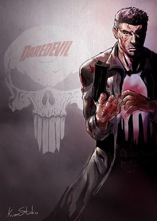 Jon Bernthal The Punisher Elektra PNG