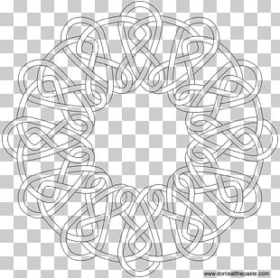 Celtic Knot Coloring Book Celts Mandala PNG