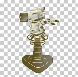 Video Camera Cartoon Television Illustration PNG
