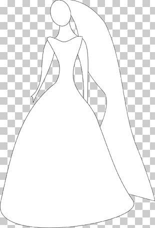 Wedding Invitation Wedding Dress Bride PNG