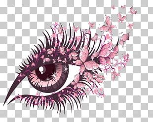 Butterfly Eye Stock Photography PNG