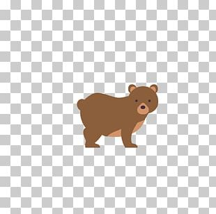 Brown Bear Dog Animal Child PNG