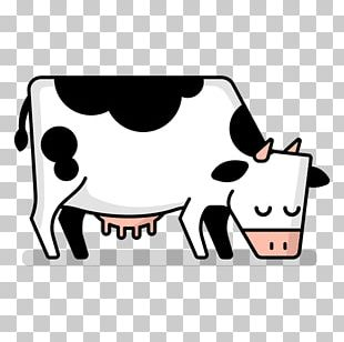 Cattle Drawing Animation PNG