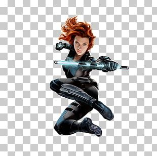 Black Widow Captain America Iron Man Black Panther Vision PNG