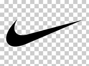 Swoosh Nike Logo Brand Shoe PNG
